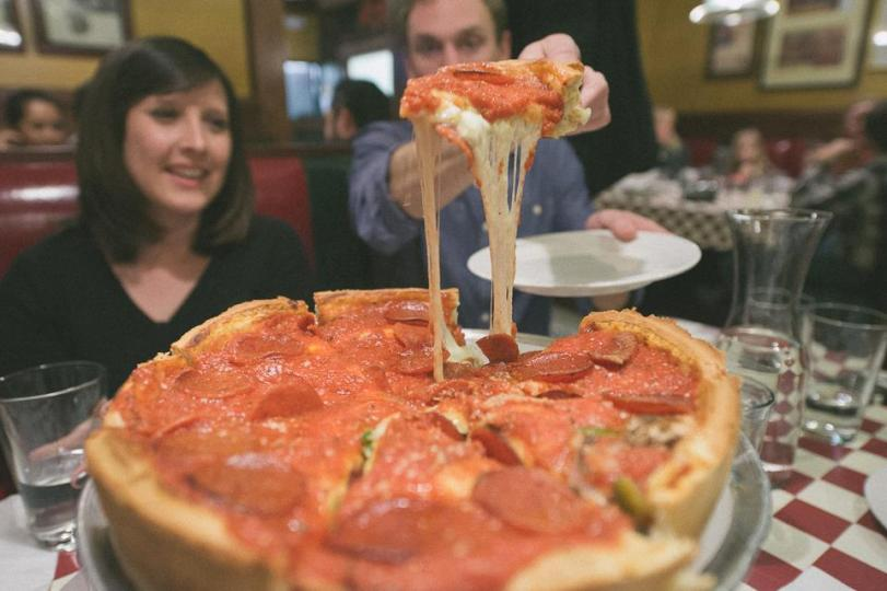 Chicago Pizza - Photo by Elicia Bryan