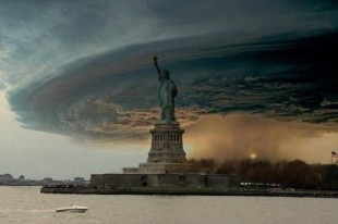 statue of liberty sandy hurricane