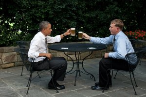 Obama Patio Beer