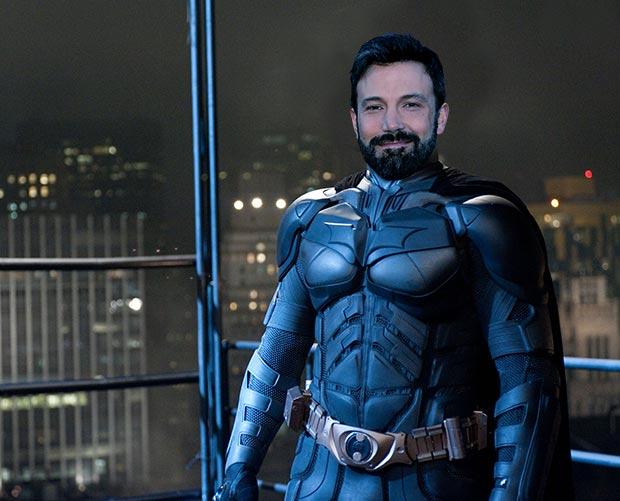 Ben Affleck's head on Batman's body